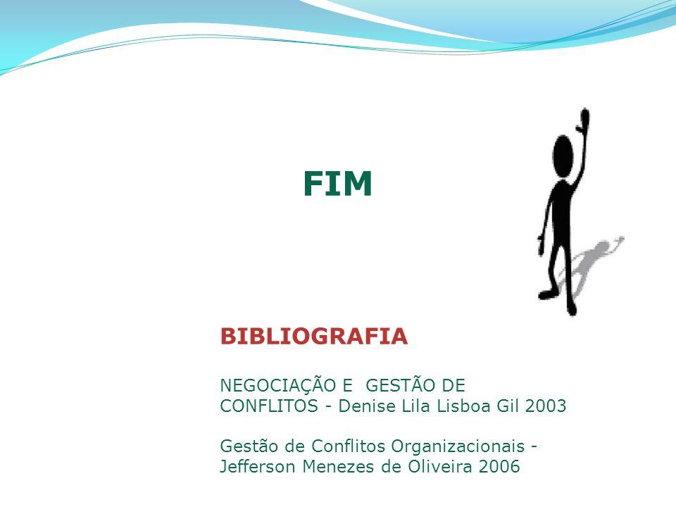 FIM BIBLIOGRAFIA NEGOCIAÇÃO E GESTÃO DE