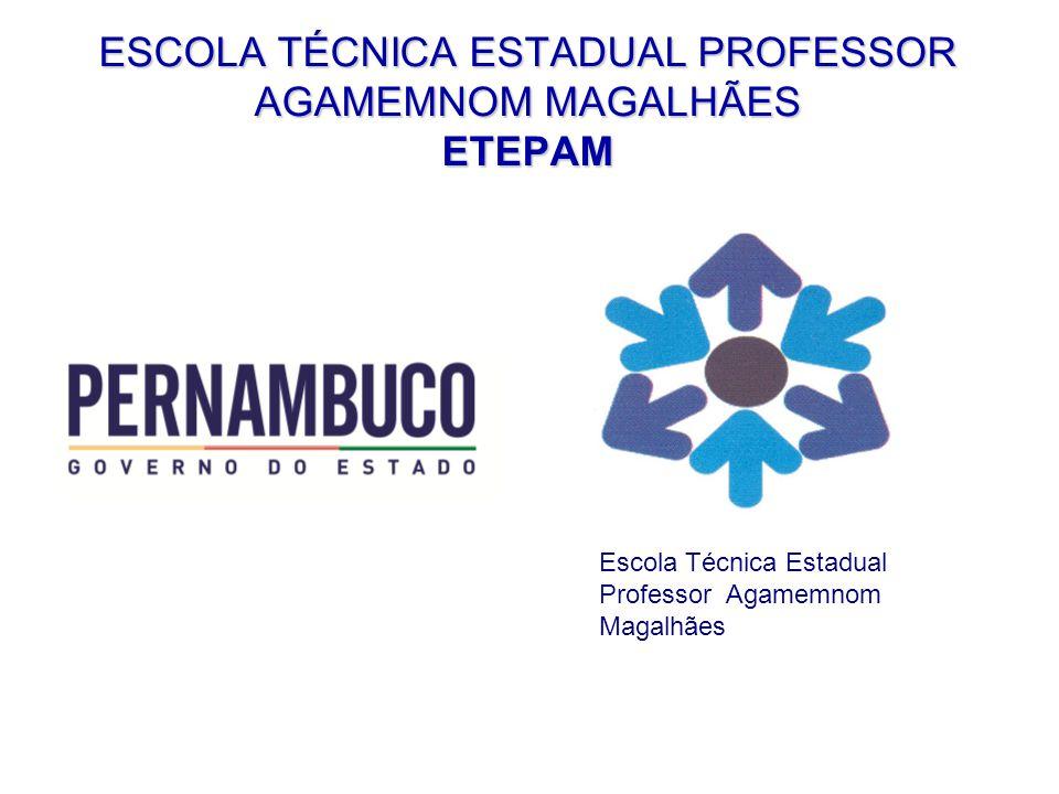 ESCOLA TÉCNICA ESTADUAL PROFESSOR AGAMEMNOM MAGALHÃES ETEPAM