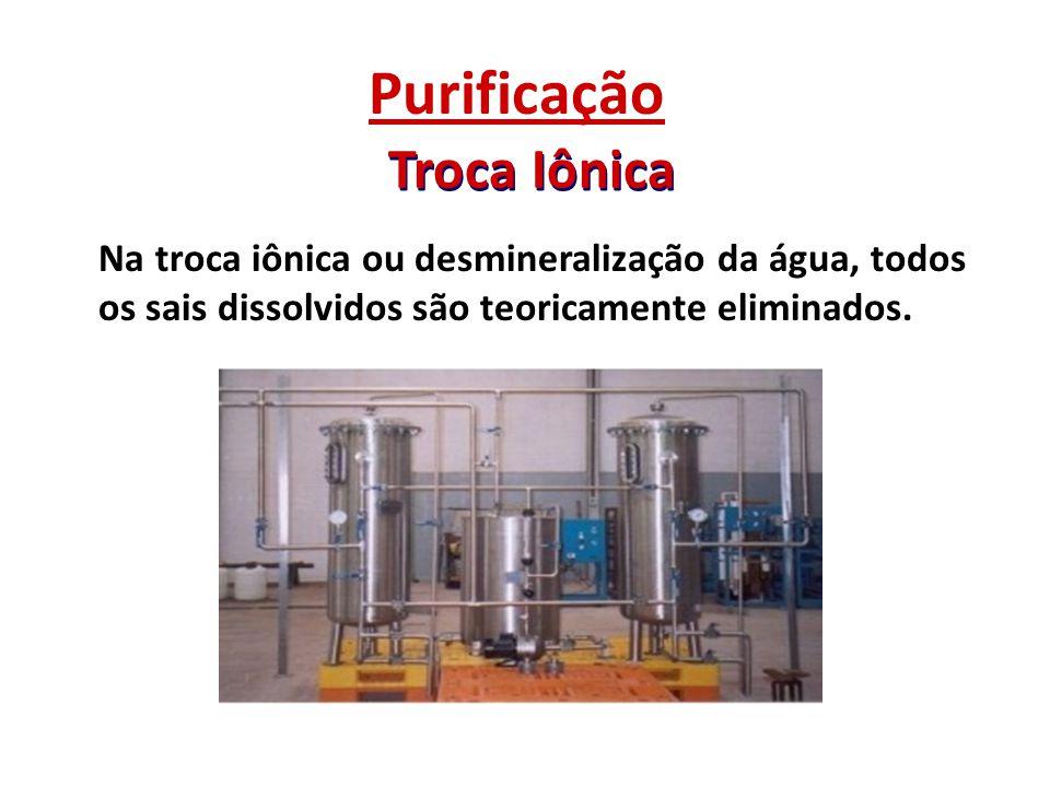 Purificação Troca Iônica