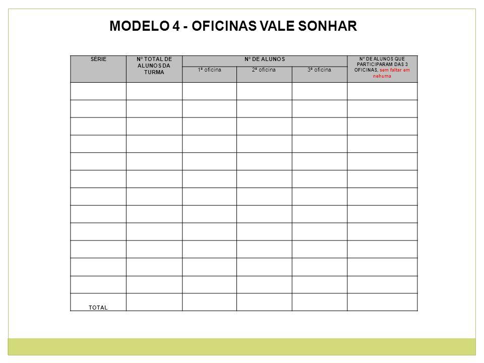 MODELO 4 - OFICINAS VALE SONHAR