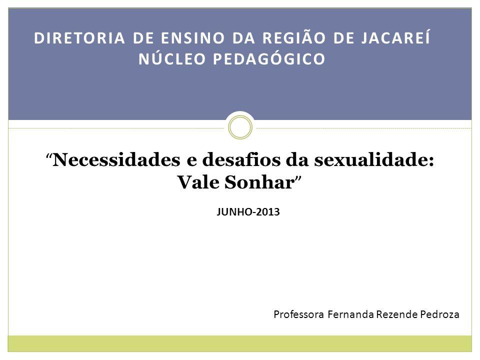 Necessidades e desafios da sexualidade: Vale Sonhar