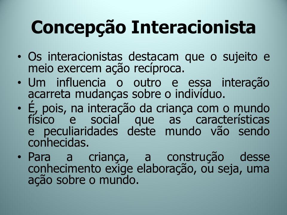 Concepção Interacionista