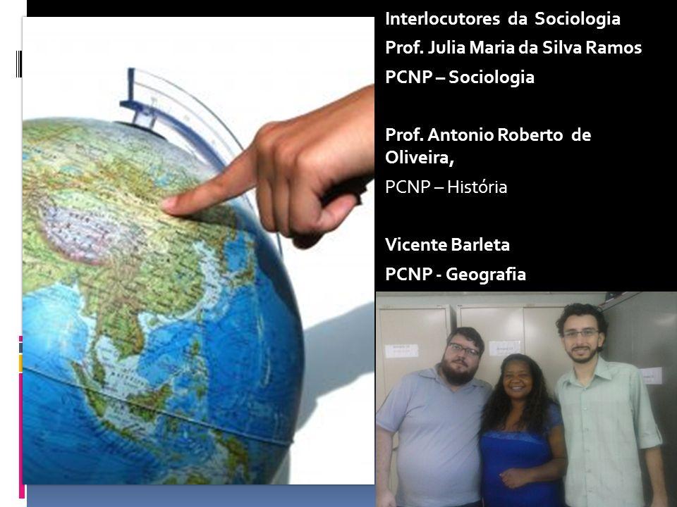 Interlocutores da Sociologia