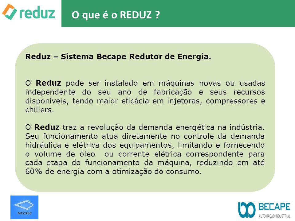 O que é o REDUZ Reduz – Sistema Becape Redutor de Energia.