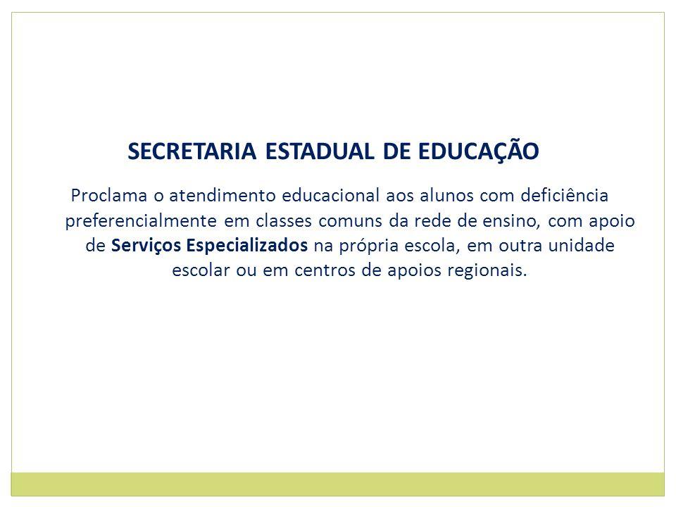 SECRETARIA ESTADUAL DE EDUCAÇÃO