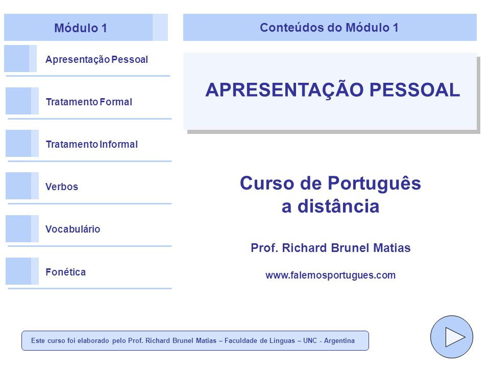 Prof. Richard Brunel Matias