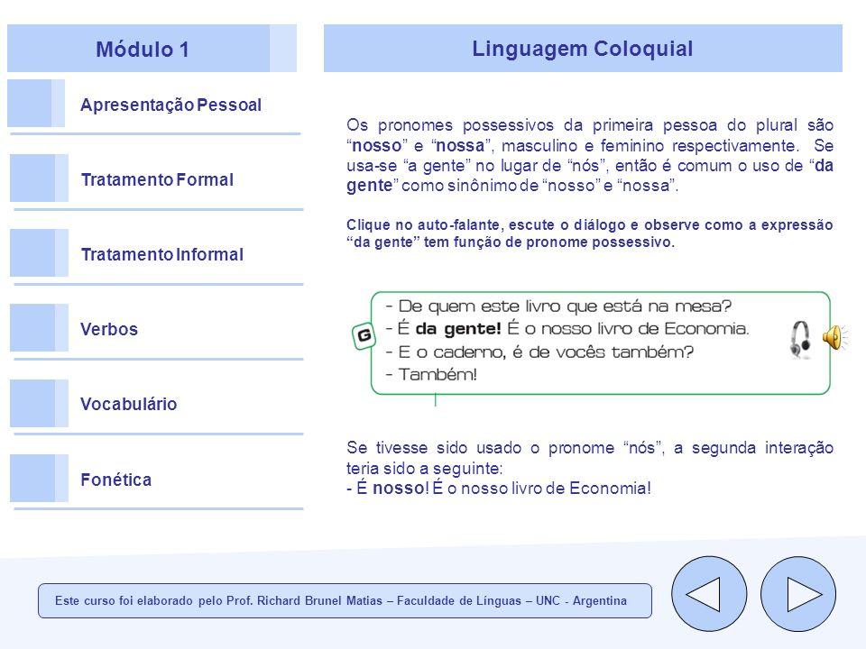 Módulo 1 Linguagem Coloquial