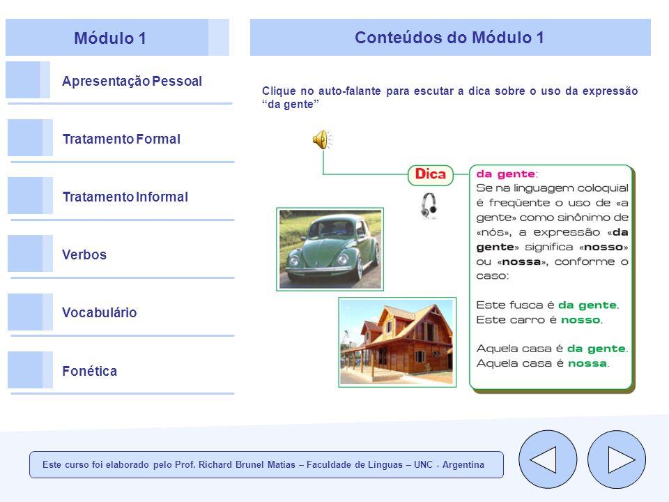 Módulo 1 Conteúdos do Módulo 1