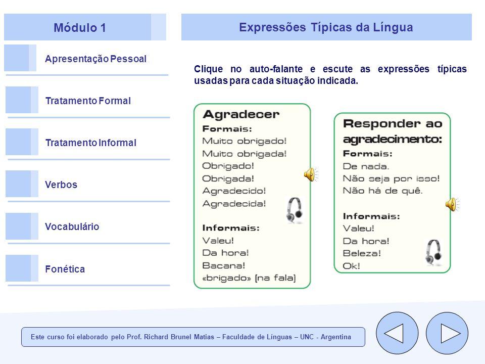 Expressões Típicas da Língua