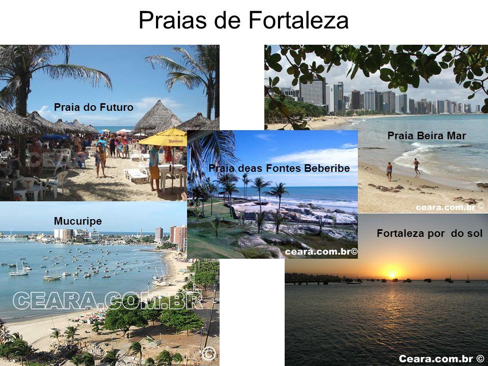 Praias de Fortaleza Praia do Futuro Praia Beira Mar
