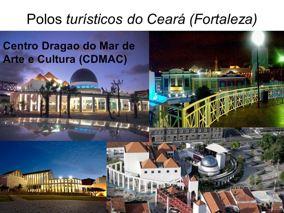 Polos turísticos do Ceará (Fortaleza)