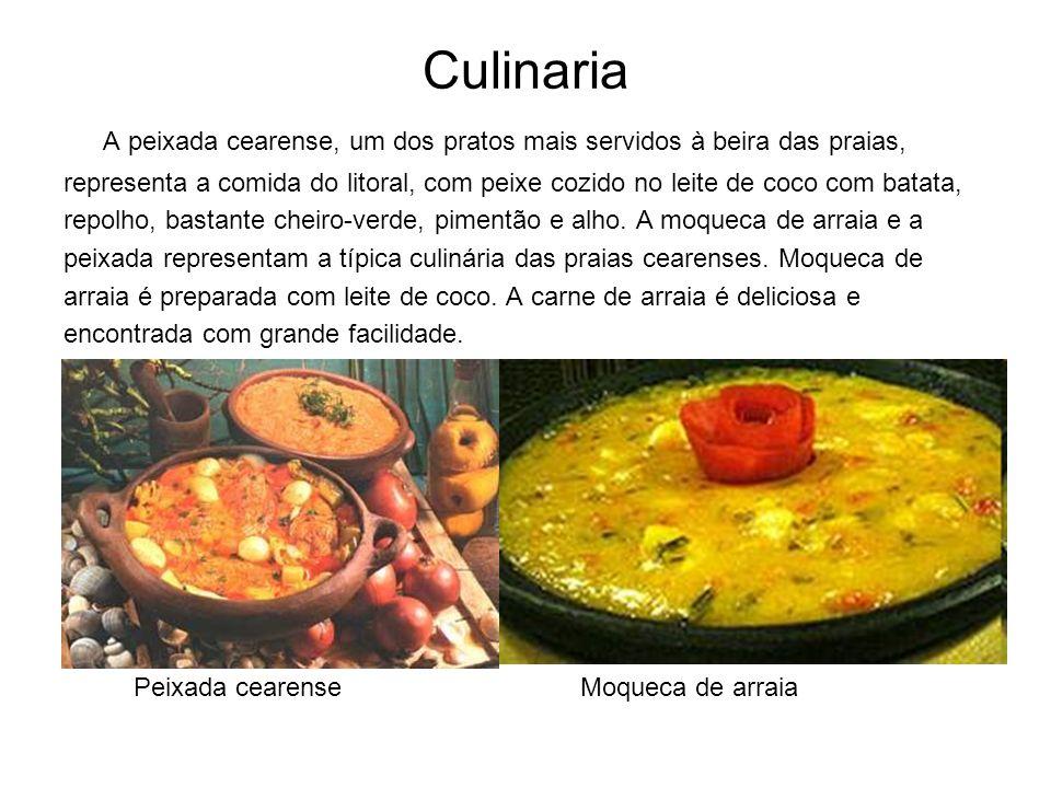 Culinaria A peixada cearense, um dos pratos mais servidos à beira das praias,