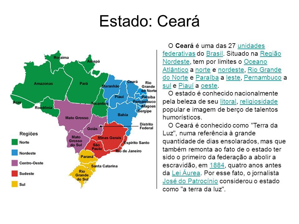 Estado: Ceará