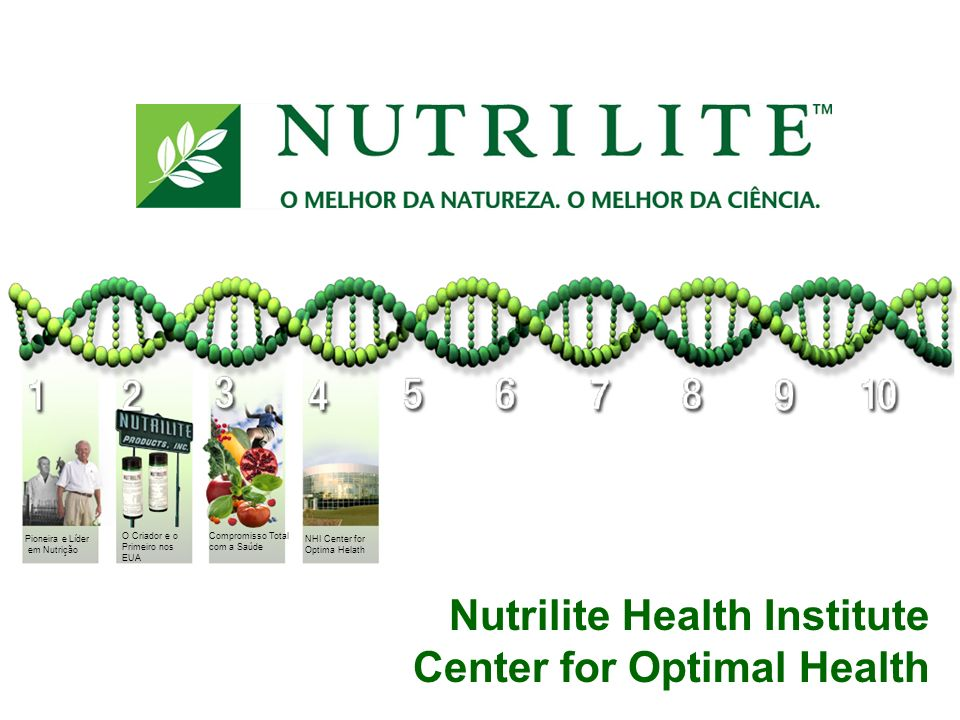 Nutrilite Health Institute Center for Optimal Health