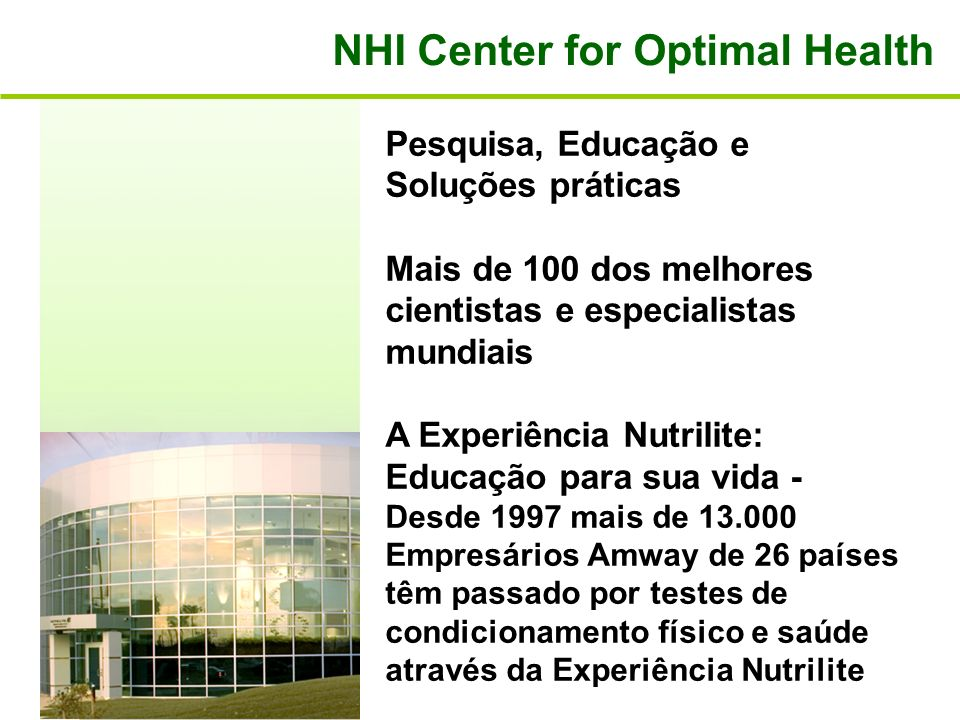 NHI Center for Optimal Health