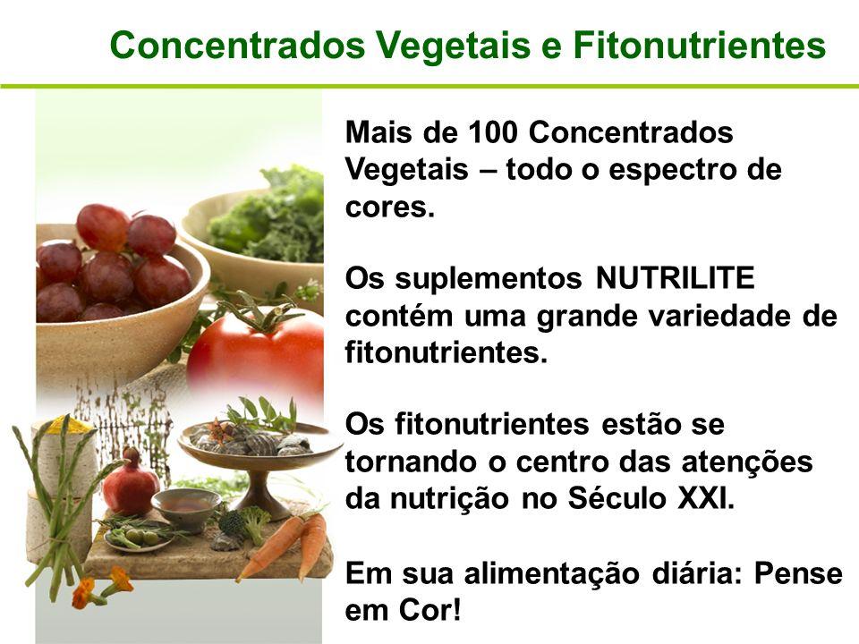 Concentrados Vegetais e Fitonutrientes
