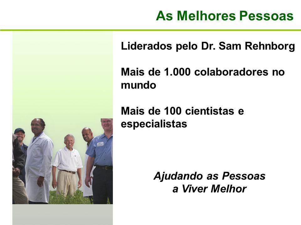 As Melhores Pessoas Liderados pelo Dr. Sam Rehnborg