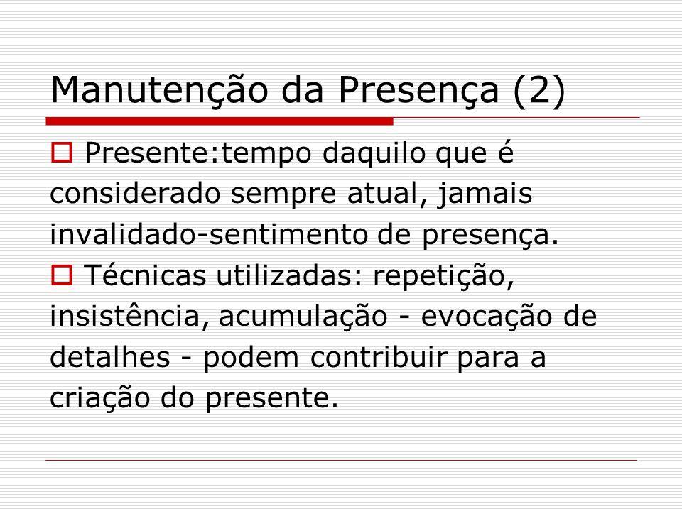 Manutenção da Presença (2)
