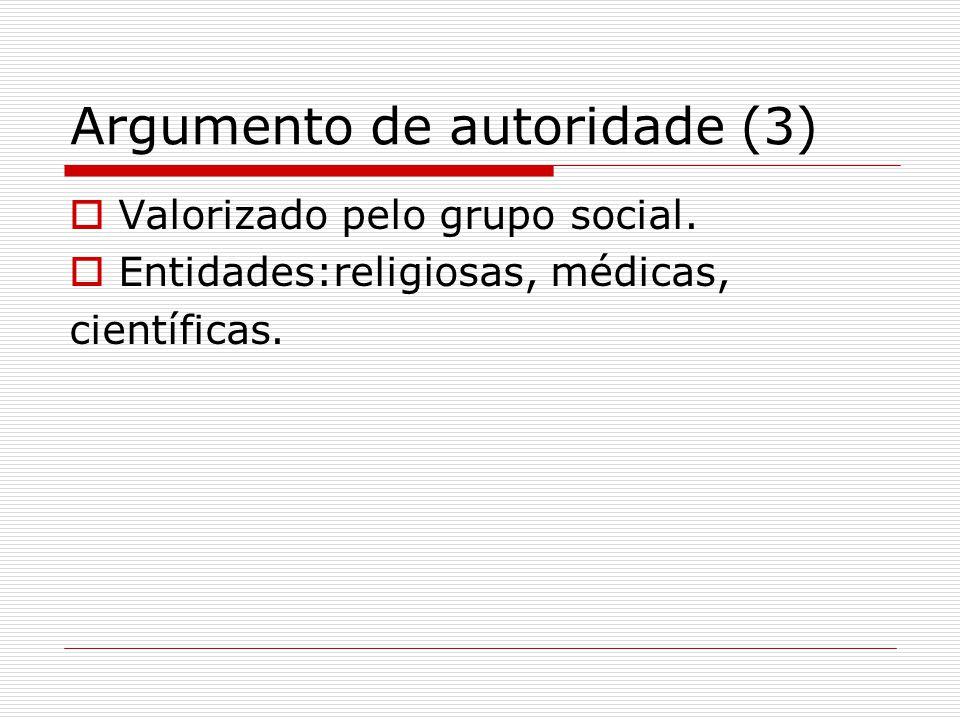 Argumento de autoridade (3)