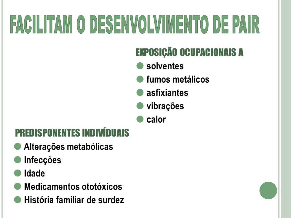 FACILITAM O DESENVOLVIMENTO DE PAIR