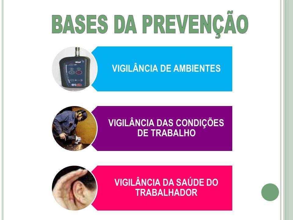 BASES DA PREVENÇÃO VIGILÂNCIA DE AMBIENTES