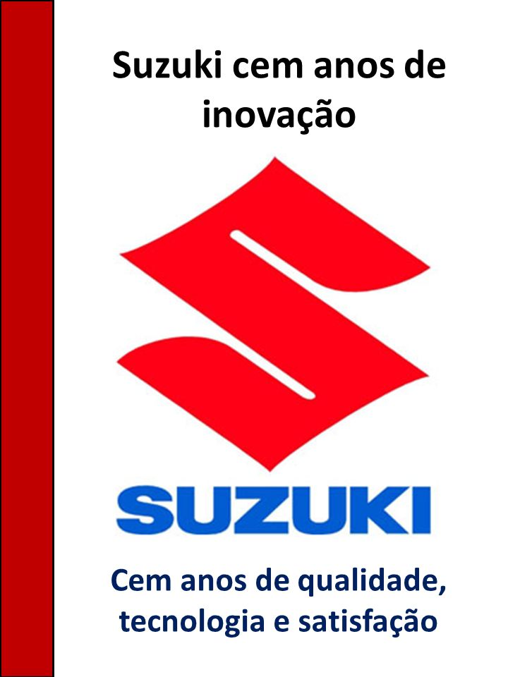 Suzuki cem anos de inovação