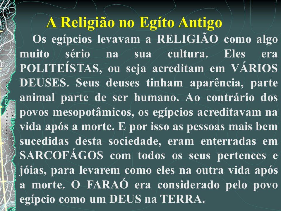A Religião no Egíto Antigo
