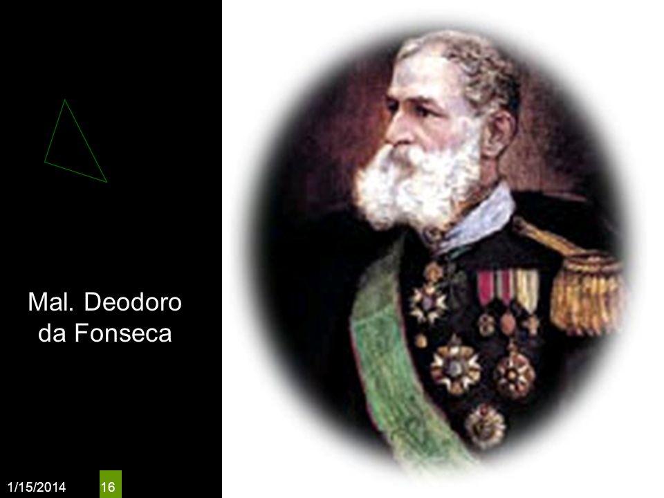 Mal. Deodoro da Fonseca 3/25/2017