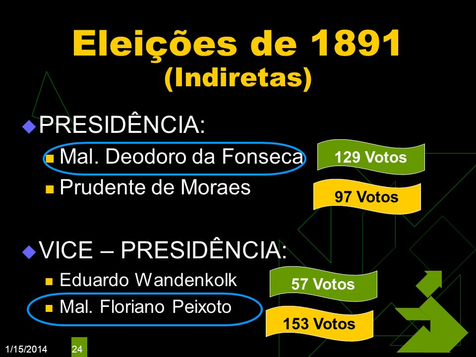 Eleições de 1891 (Indiretas)