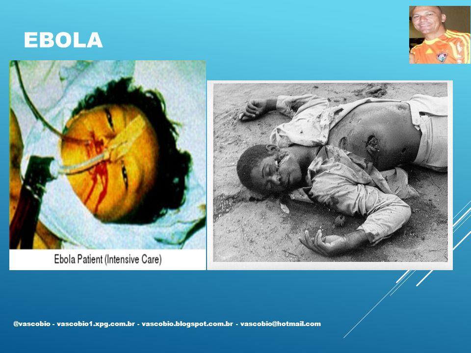 Ebola @vascobio - vascobio1.xpg.com.br - vascobio.blogspot.com.br - vascobio@hotmail.com