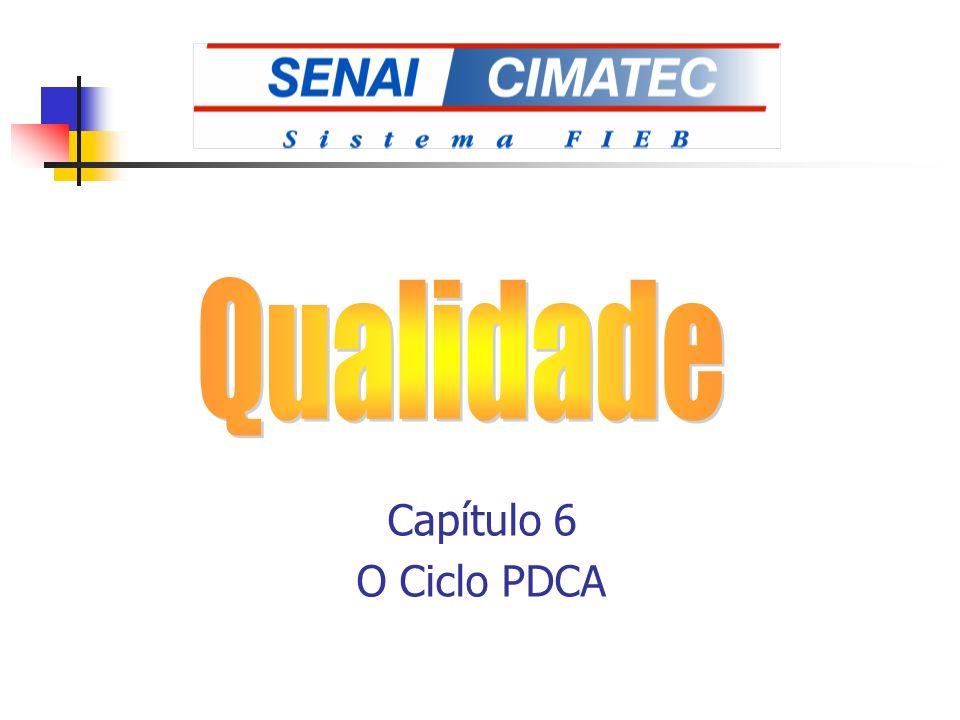 Qualidade Capítulo 6 O Ciclo PDCA