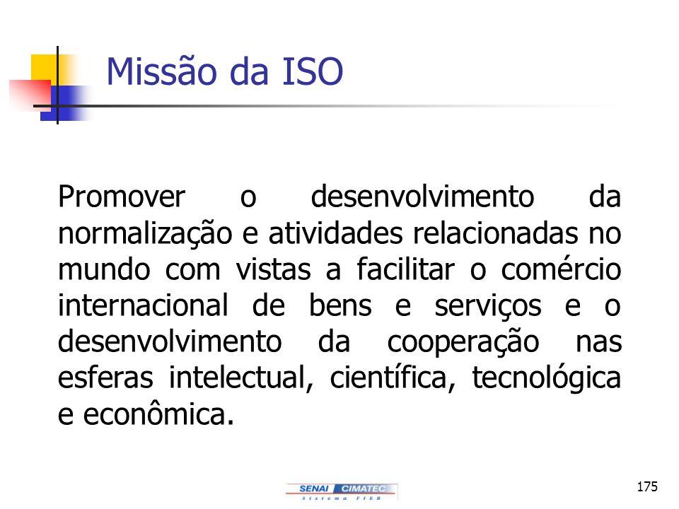 Missão da ISO