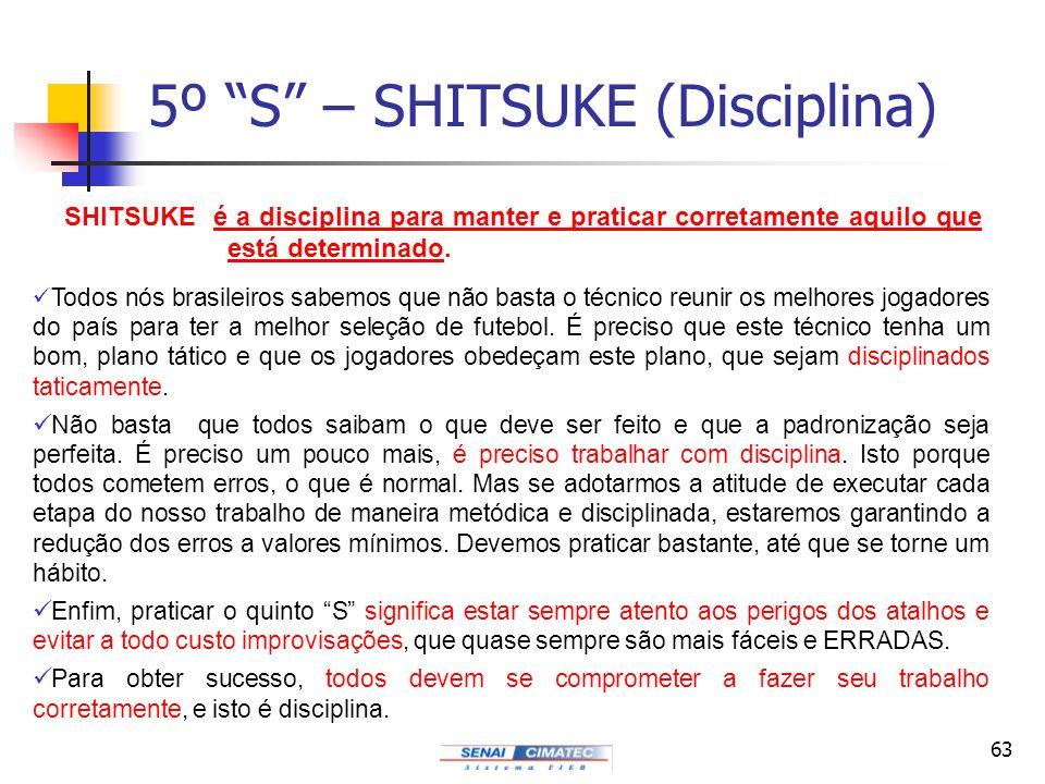 5º S – SHITSUKE (Disciplina)