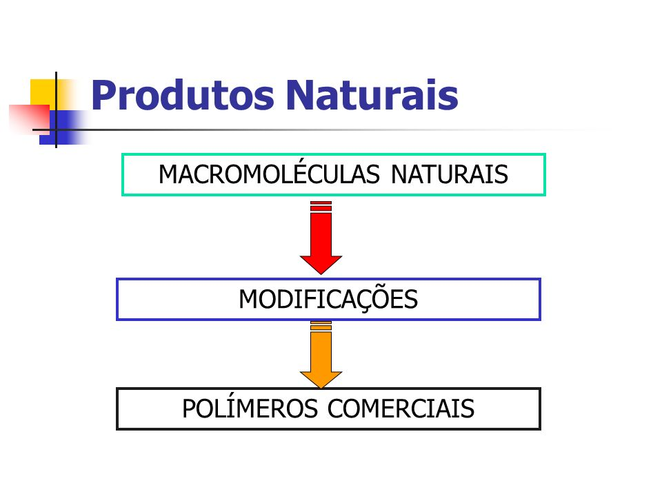 MACROMOLÉCULAS NATURAIS