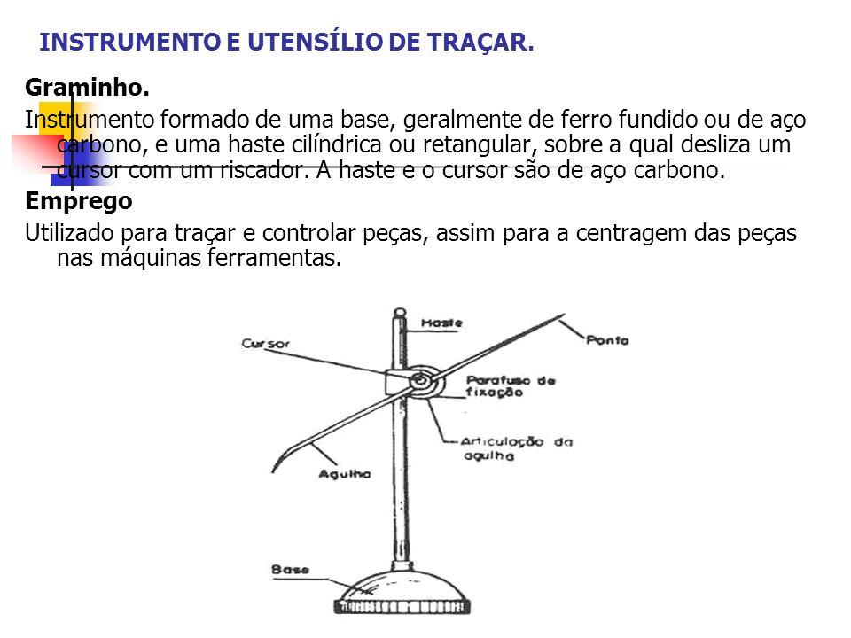 INSTRUMENTO E UTENSÍLIO DE TRAÇAR.