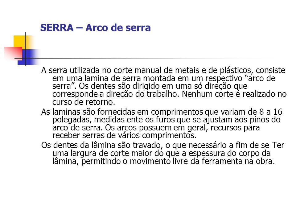 SERRA – Arco de serra