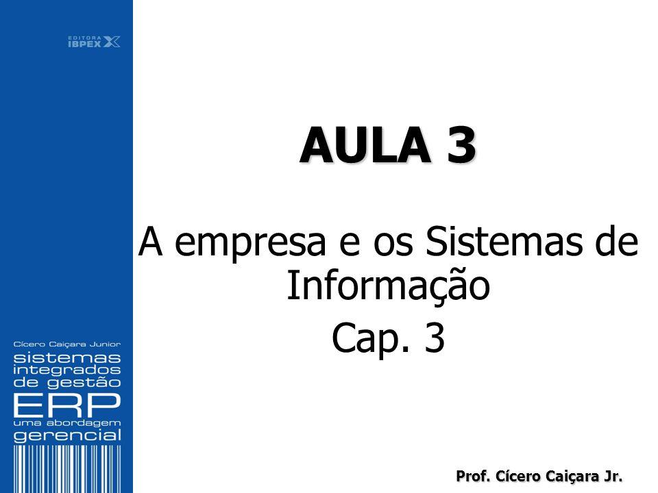 AULA 3 A empresa e os Sistemas de Informação Cap. 3