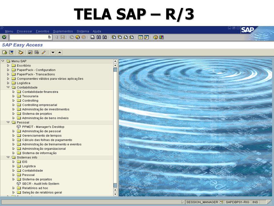 TELA SAP – R/3