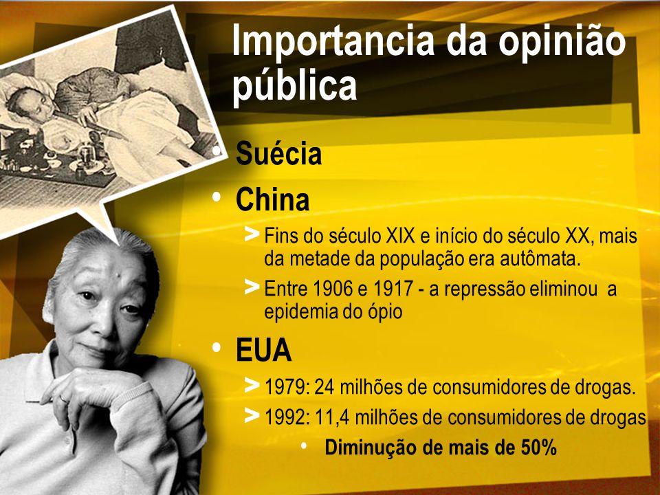 Importancia da opinião pública