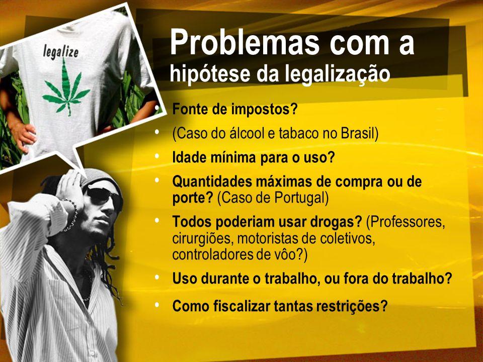 Problemas com a hipótese da legalização