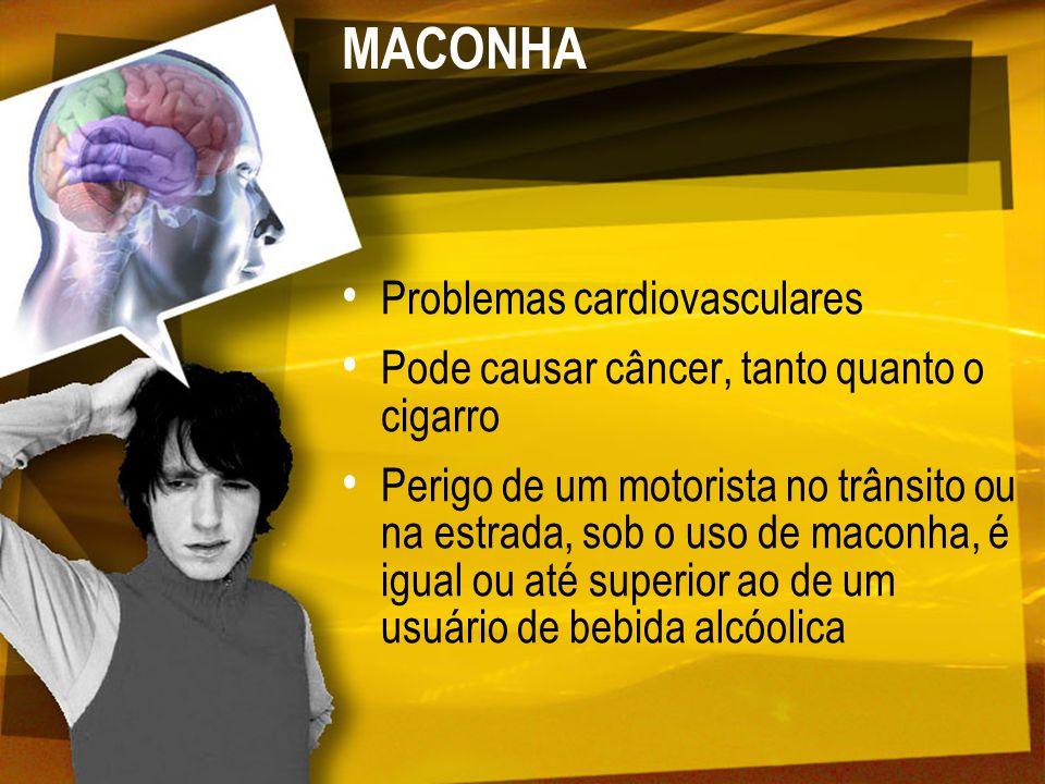 MACONHA Problemas cardiovasculares