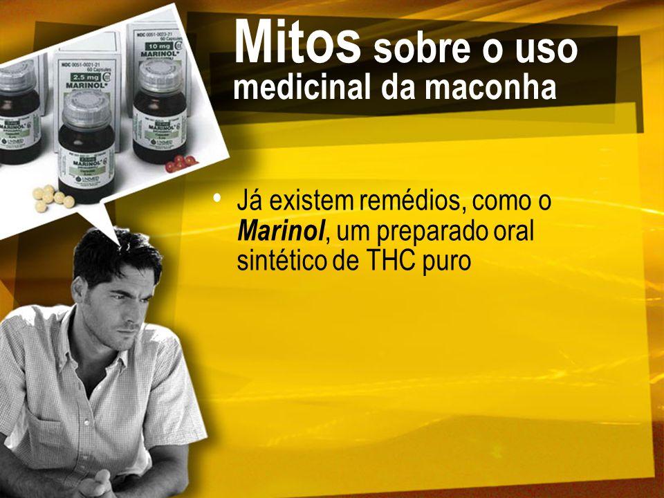 Mitos sobre o uso medicinal da maconha