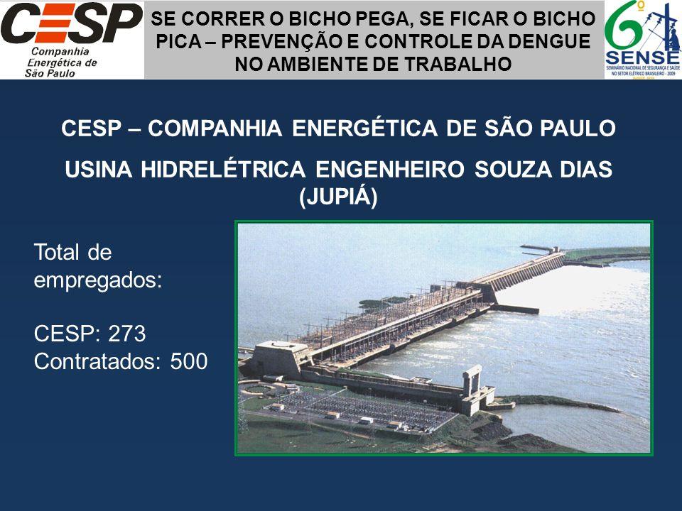 CESP – COMPANHIA ENERGÉTICA DE SÃO PAULO