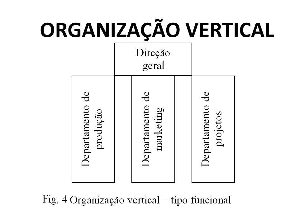 ORGANIZAÇÃO VERTICAL