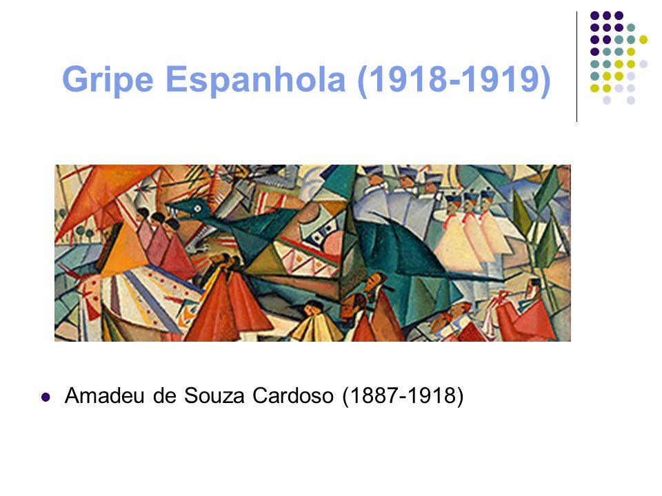 Gripe Espanhola (1918-1919) Amadeu de Souza Cardoso (1887-1918)