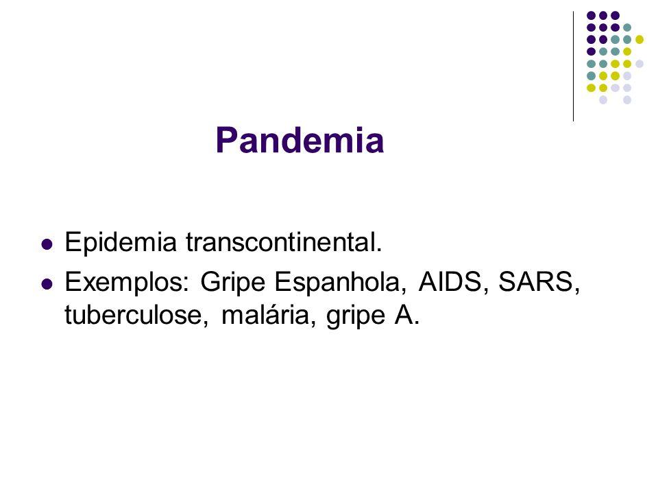 Pandemia Epidemia transcontinental.