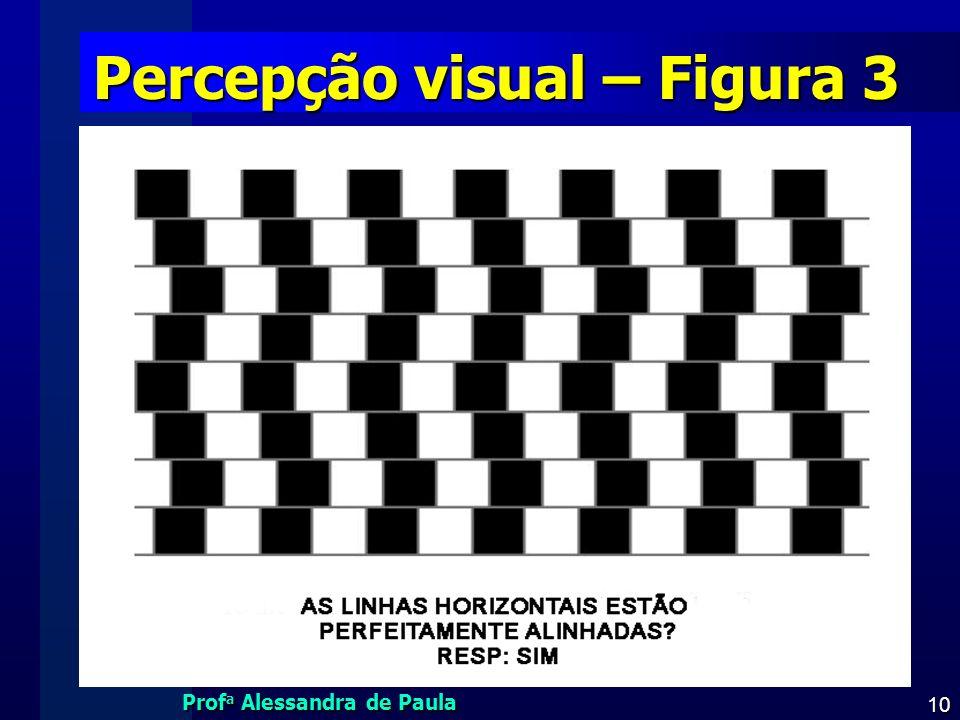 Percepção visual – Figura 3