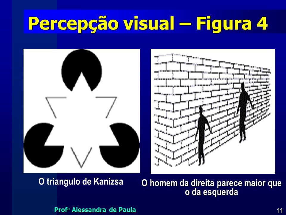 Percepção visual – Figura 4