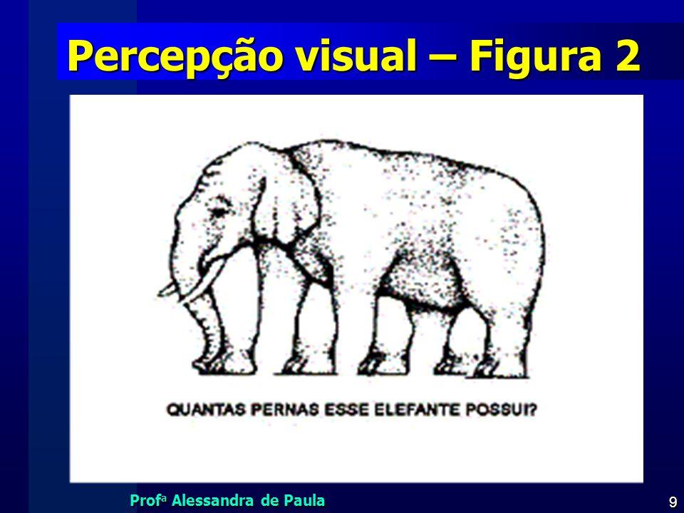 Percepção visual – Figura 2