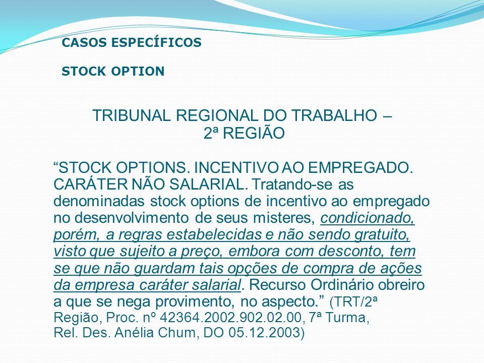 TRIBUNAL REGIONAL DO TRABALHO –